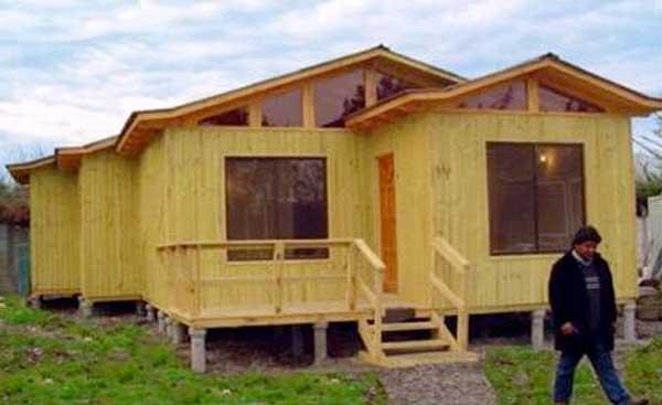Planos de casa de 80 m2 con 3 dormitorios y 1 piso - Ver casas de madera ...