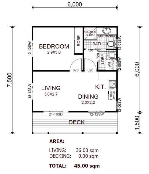 Plano de casa estilo \