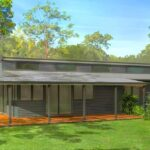 vista fachada plano de casa ver planos planos gratis planos