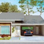 Planos de casa de 3 dormitorios y 145m2 de un solo piso