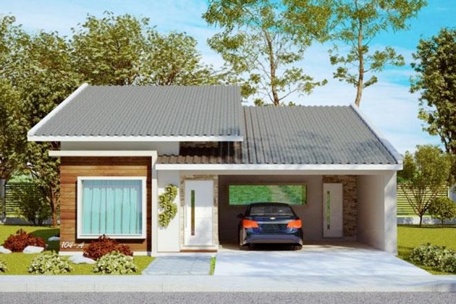 Planos de casa de 3 dormitorios 1 piso 145 m2 ver planos Ver fachadas de casas