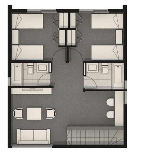 Plano segundo nivel