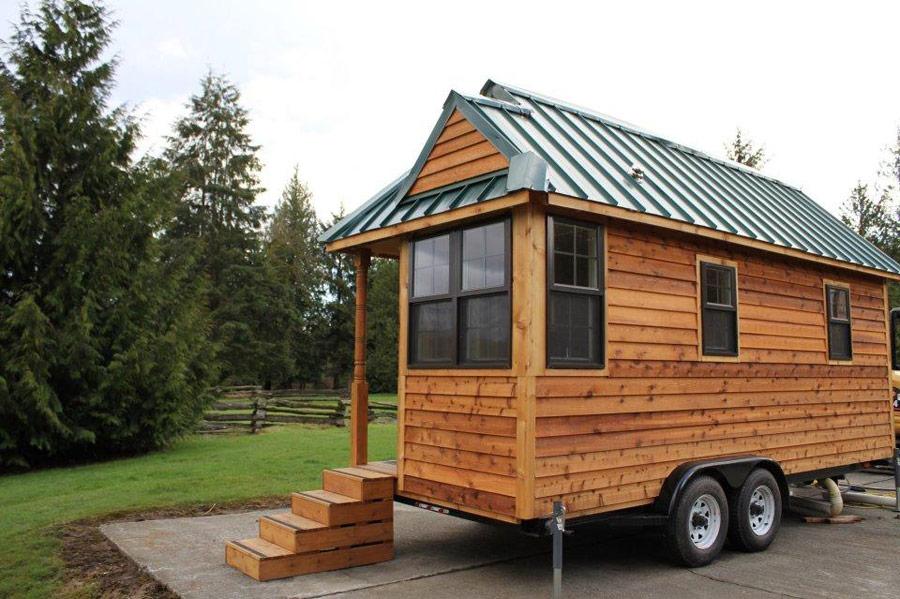 Dise o de casa rodante de madera for Bar rodante de madera