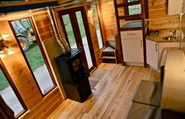 Dise o casa rodante de madera con un dise o de alta calidad for Bar rodante de madera