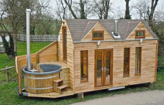 dise o casa rodante de madera con un dise o de alta calidad
