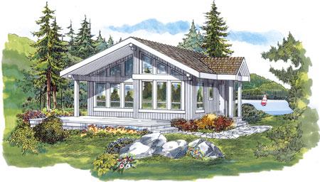fachada de la vivienda planos de casa