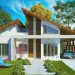 Plano de casa grande con 4 dormitorios y 131,62 m2