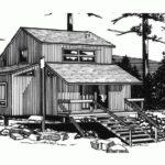 fachada plano cabana dos pisos