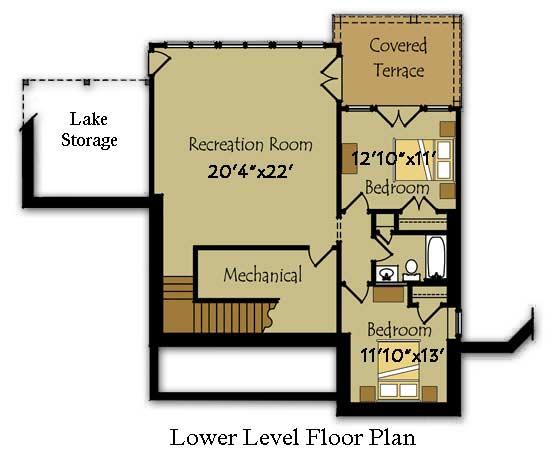 Plano de casa grande de 2 pisos con 3 dormitorios for Planos para segundo piso
