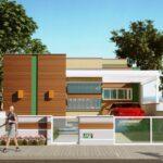 Fachada de casa moderna plantas planos de casas grandes plano de casa