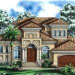 fachada casa grande lujosa