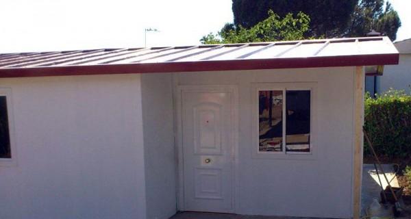 vivienda fachada plano de casa social un piso tres dormitoriso madera modular con medidas