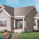 Plano de casa estilo americana