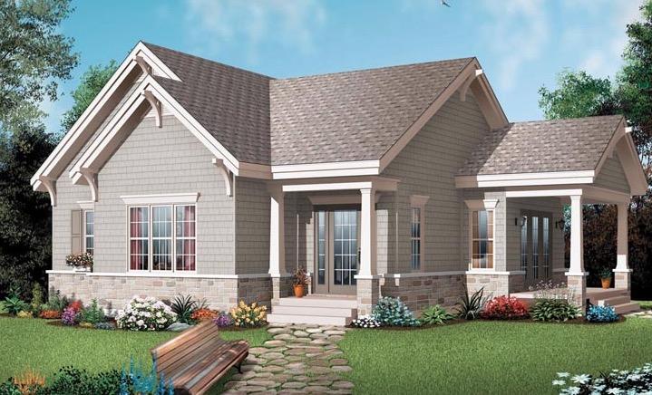 Plano de casa estilo americana for Casas americanas planos
