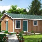 Simple plano de casa de 3 dormitorios con 71m2