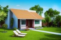 fachada casa mediterraneo plano de casa