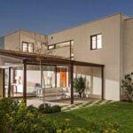 Plano de casa 172 m2 4 dormitorios, 4 baños