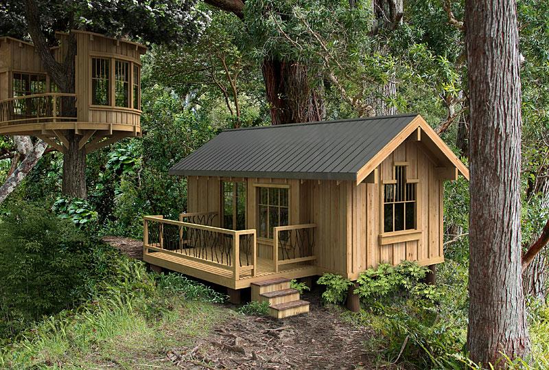 Hermosa caba a r stica estudio for Modelos de cabanas rusticas