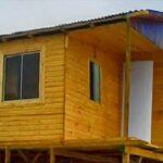 Plano de casa 54 m2 prefabricada de 3 dormitorios