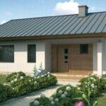 fachada casa prefabricada 77 m2