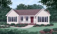 fachada plano de casa plano de casa de 100 m2 3 dormitorios 2 banos