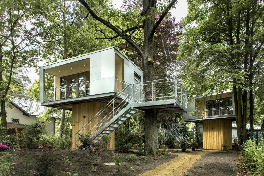 Planos de casas en el rbol modernas e innovadoras for Casa en el arbol cuenca