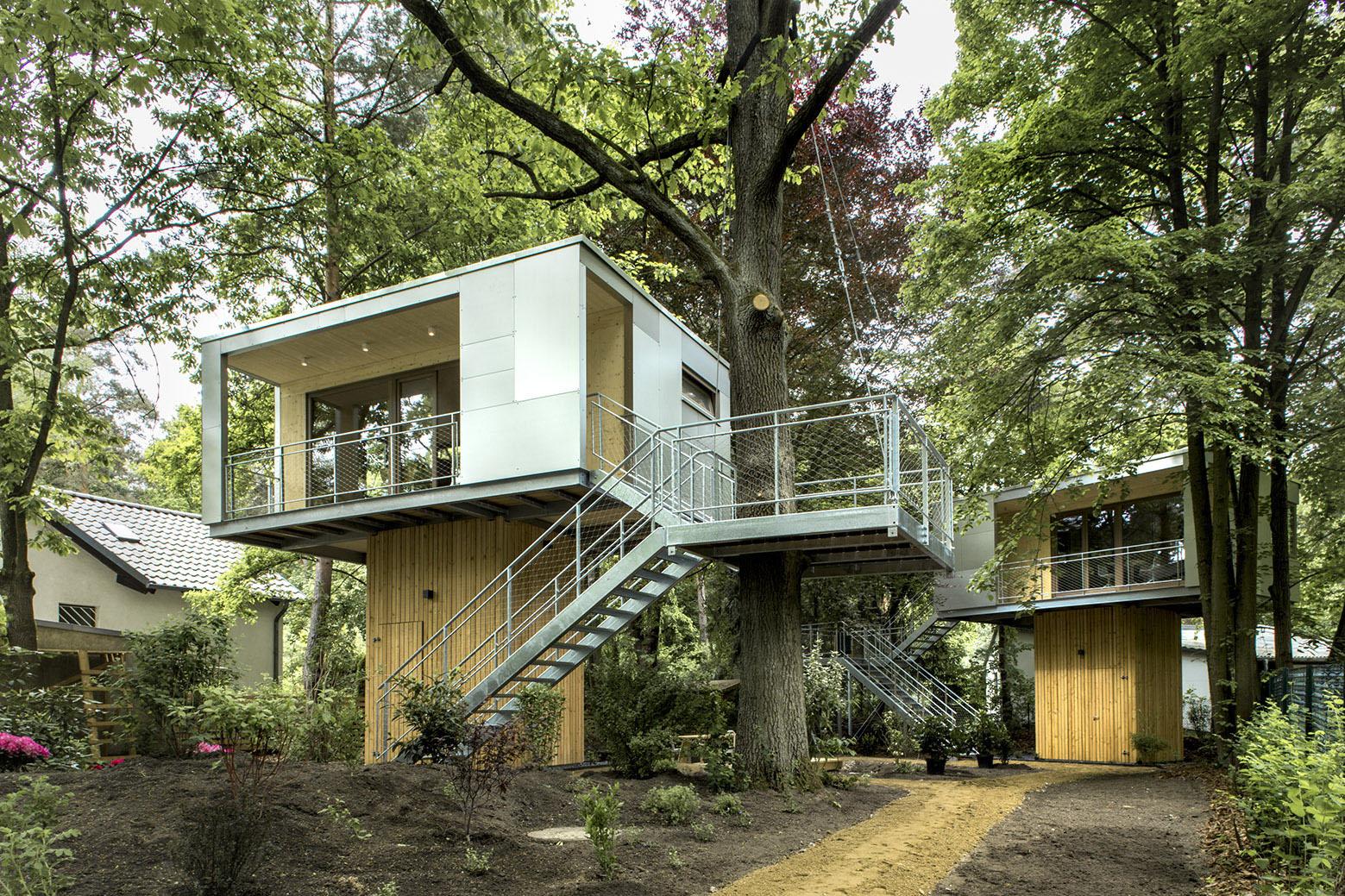 Planos de casas en el rbol modernas e innovadoras - Casitas en el arbol ...