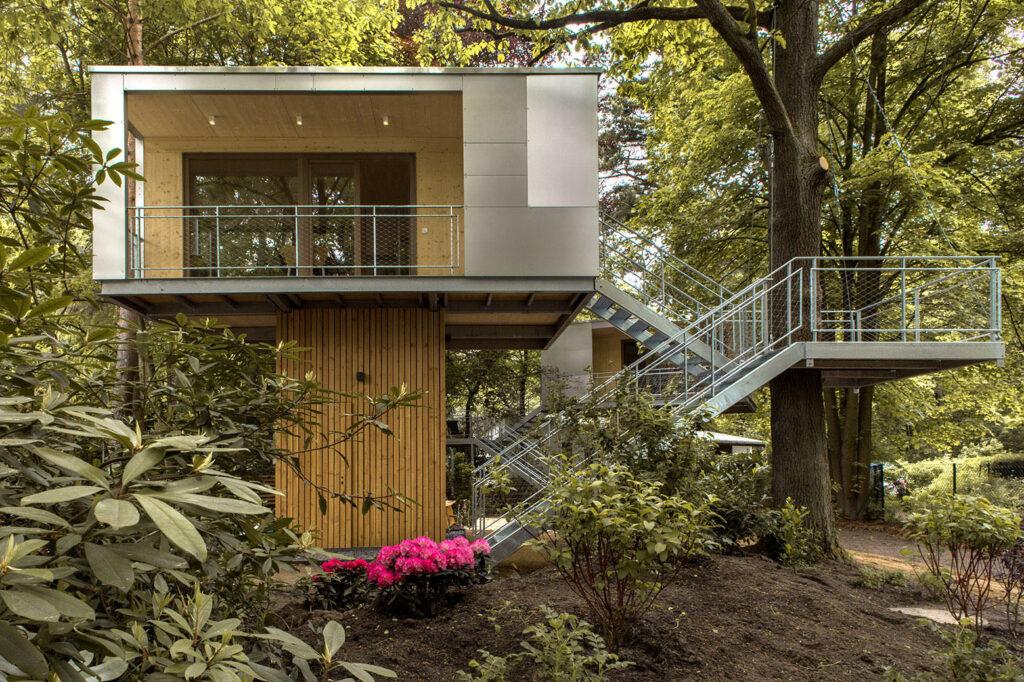 Planos de casas en el rbol modernas e innovadoras - Casas de arbol ...