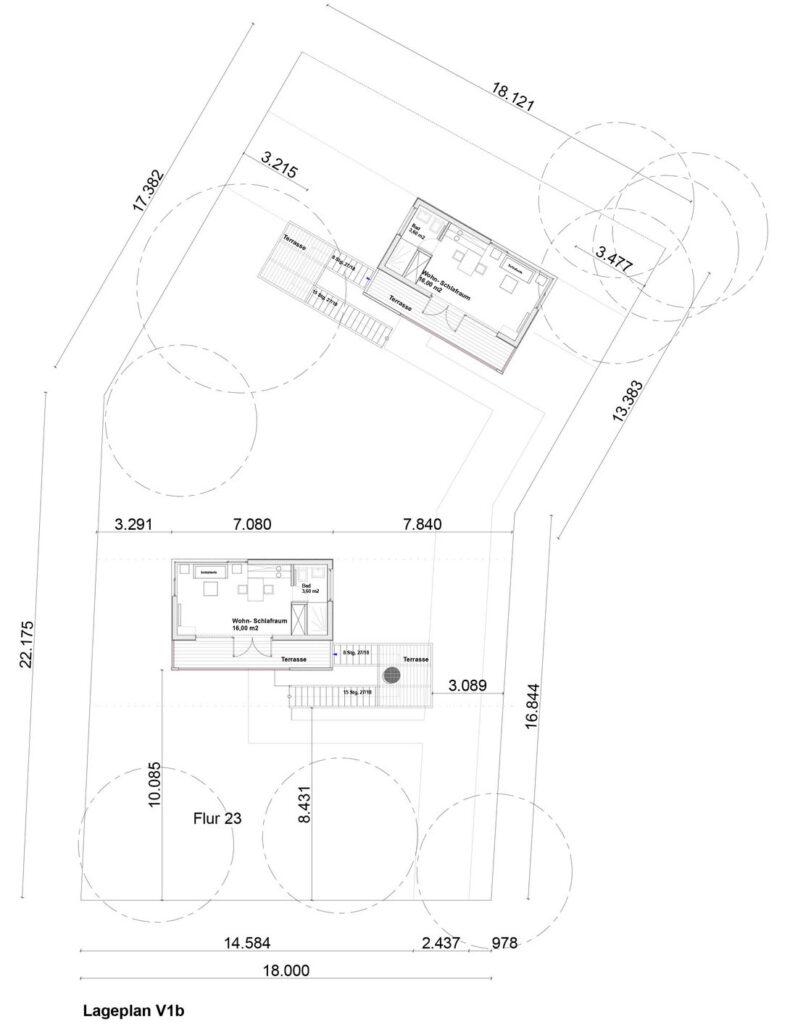 Planos de casas en el rbol modernas e innovadoras for Fachadas en planos arquitectonicos