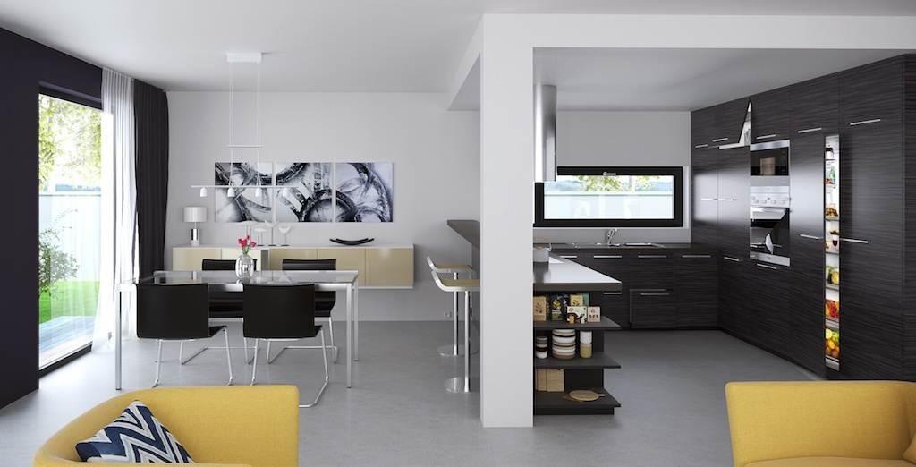 Plano de casa prefabricada de 77 3 m2 con 2 dormitorios - Interiores de casas prefabricadas ...