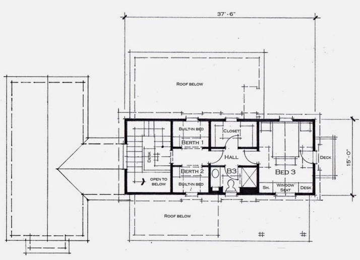 cabana segundo piso grande