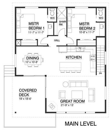Plano de casa de 180m2 de 2 pisos con 4 dormitorios - Opiniones donacasa ...