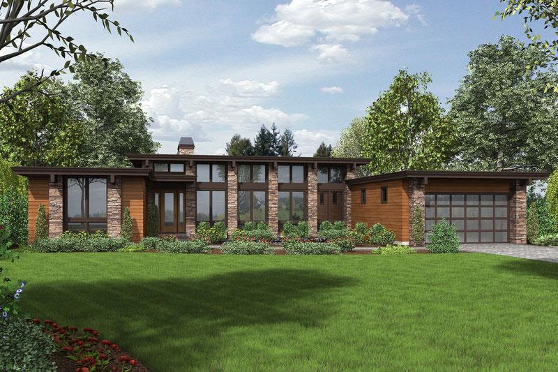 Plano de casa grande de 237 5m2 con 3 dormitorios - Requisitos para montar una casa rural ...