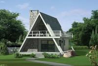 fachada plano de casa particular forma