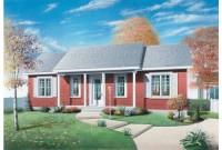 fachada plano de vivienda clasica