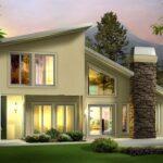 plano de casa moderno y amplio diseño creativo
