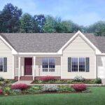 fachada plano de casa con garaje