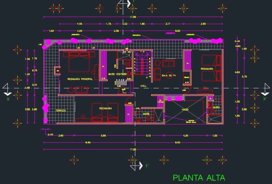 Descargar plano de casa de 2 pisos y 3 dormitorios gratis for Planos de casas de un piso gratis