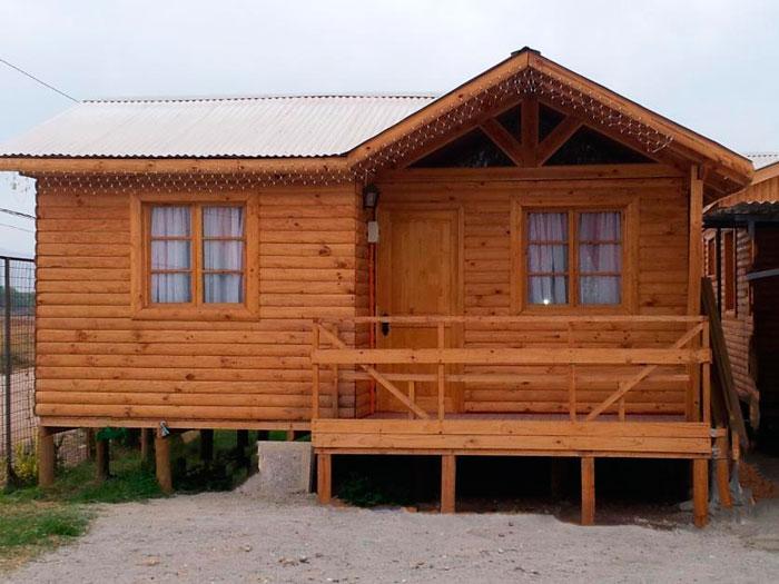 Planos de casa econ mica de 42m2 y 2 dormitorios - Terreno para casa prefabricada ...