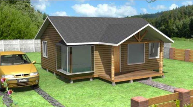 Planos de casas economicas sistema de construccin casas for Casetas economicas