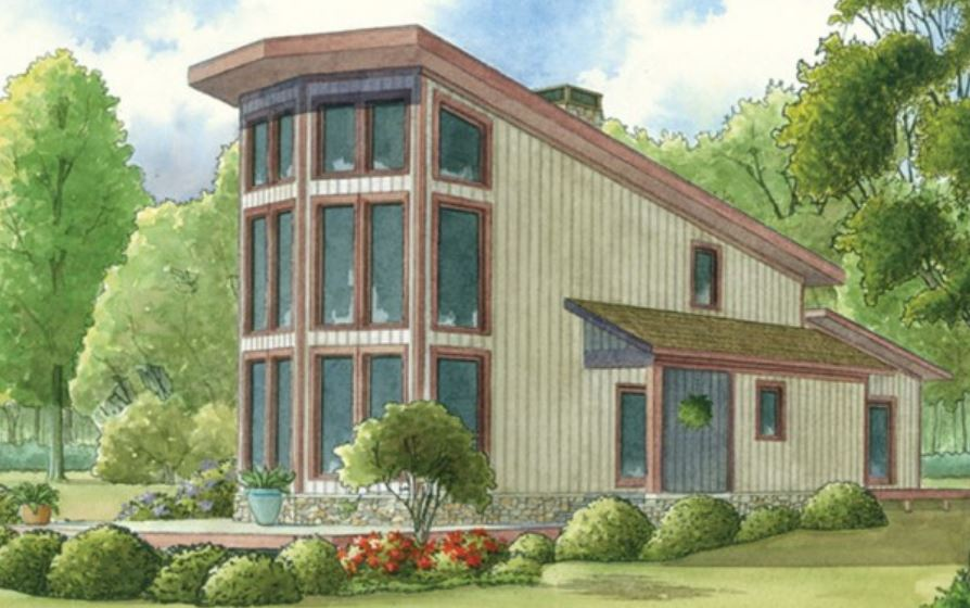 Plano de casa tipo loft con m s de 100 m2 for Casas loft diseno