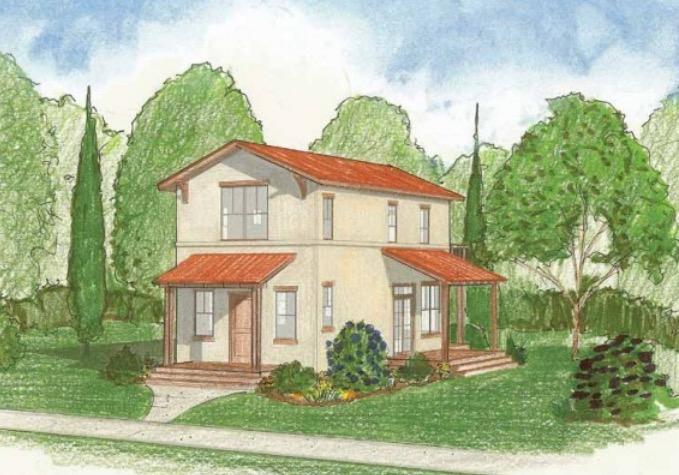 Casa de campo 116m2 con 2 dormitorios plano de casa - Plano casa de campo ...