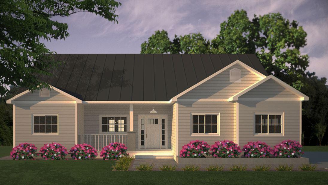 Un cl sico plano de casa grande con 3 dormitorios y 1 piso for Casa clasica procrear 1 dormitorio