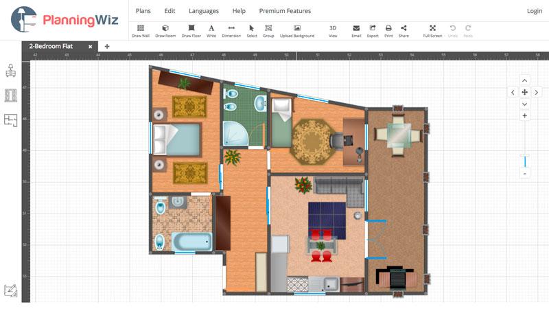 5 herramientas para dibujar y hacer planos de casas online for Pagina para hacer planos gratis