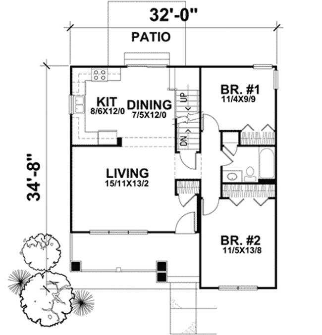 Primer piso planos de casas de campo