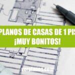 Planos de casas de 1 piso gratis