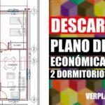 Descargar plano de casa económica con medidas en Autocad