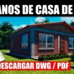planos de casa economica con medidas descargar para utocad dwg pdf