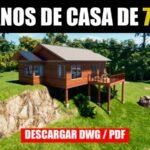 planos de casa gratis con medidas descargar gratis en dwg y pdf