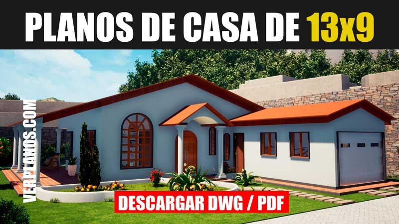 Planos de casa gratis para descargar dwg para autocad y pdf gratis